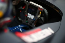 Oulton Park Map on a steering wheel