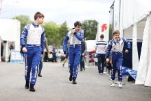 Roberto Faria (BRA) Fortec Motorsport British F4 Tommy Foster (GBR) Arden Motorsport Alex Connor (GBR) Arden