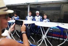 Bart Horsten (AUS) Arden Motorsport British F4 Alex Connor (GBR) Arden Motorsport British F4 Tommy Foster (GBR) Arden Motorsport British F4