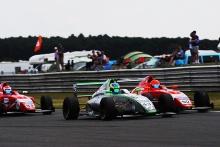 Josh Skelton (GBR) JHR Developments British F4 Bart Horsten (AUS) Arden Motorsport British F4