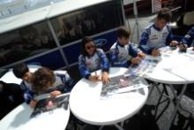 British F4 Autograph Session