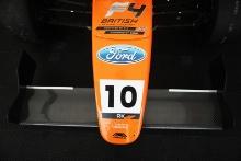 Mariano Martinez (MEX) Fortec Motorsport British F4 Roberto Faria