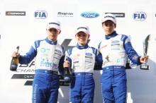 Roberto Faria (BRA) Fortec Motorsport British F4 Alex Connor (GBR) Arden Motorsport British F4 Zane Maloney (BRB) Carlin British F4