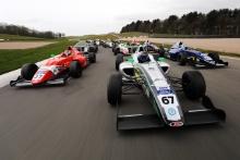 Alex Connor (GBR) - Arden British F4, James Hedley (GBR) - JHR British F4, Zak O'Sullivan (GBR) - Carlin British F4