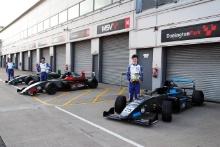 Reema Juffali (SAU) - Argenti Motorsport British F4  , Nico Pino (CHL) - Argenti British F4, Casper Stevenson (GBR) - Argenti British F4