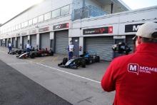 Reema Juffali (SAU) Double R Racing British F4, Nico Pino (CHL) - Argenti British F4, Casper Stevenson (GBR) - Argenti British F4
