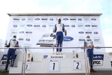 Mathias Zagazeta (PER) - Carlin British F4 Frederick Lubin (GBR) - Arden British F4 Christian Mansell (AUS) - Carlin British F4