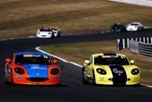 Tom Sibley Xentek Motorsport Ginetta G40 Cup Harry King Elite Motorsport Ginetta G40 Cup