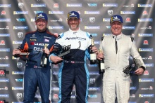 Race 3 Podium Ian Duggan Julian Wantling Martin Wills