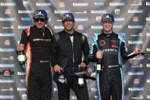 Race 3 Podium Rob Keogh Alistair Barclay Daniel Morris