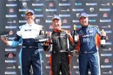 Race 2 Podium Julian Wantling Roy Alderslade Ian Duggan