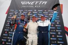 Podium Race 1 Am Ian Duggan / Fox Motorsport Martin Wills / Assetto Motorsport Mike West / Assetto Motorsport