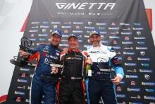 Podium Race 3 Ian Duggan / Fox Motorsport Roy Alderslade / W2R Julian Wantling / Assetto Motorsport