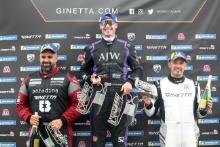 Darren Leung - GTA, Angus Whiteside - Want2Race GTA, Tom Hartley jnr - Want2Race GTA