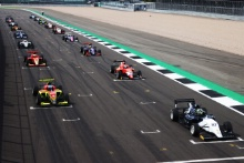 Start Oliver Bearman (GBR) - Fortec Motorsports BRDC GB3