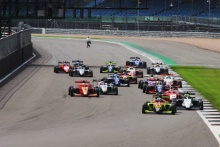 Start - Ayrton Simmons (GBR) - Chris Dittman Racing BRDC GB3