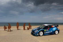 Wales Rally GB Colwyn Bay Special Stage launch