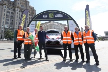 2019 Wales Rally GB Liverpool LaunchMarshals at the Liverpool Launch of Wales Rally GB
