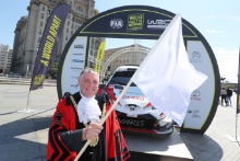 2019 Wales Rally GB Liverpool LaunchPeter Brennan - Mayor of Liverpool