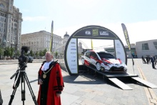 2019 Wales Rally GB Liverpool LaunchMedia and TV activity