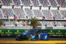 Jack Hawksworth, Dominik Farnbacher, David Heinemeier Hansson, Scott Pruett, 3GT Racing, Lexus RC F GT3