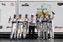 Joey Hand, Dirk Mueller, Sebastien Bourdais, Ford Chip Ganassi Racing, Ford GT and Ryan Briscoe, Richard Westbrook, Scott Dixon, Ford Chip Ganassi Racing, Ford GT
