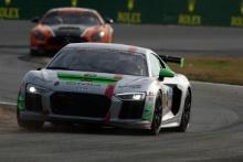 Daren Jorgensen, Cameron Lawrence, Rick Parfitt Jr, GMG Racing, Audi R8 GT4