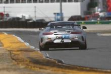 Ted Giovanis, Hugh Plumb, Guy Cosmo, Team TGM, Porsche Cayman GT4 MR