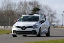 Brett Lidsey (GBR) Renault Clio Cup