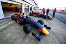 Dennis Hauger (NOR) Arden British F4 and Jack Doohan (AUS) Arden British F4