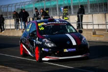 Tyler Lidsey (GBR) Renault Clio Cup