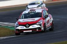 Lorcan Hannafin (GBR) Pyro Motorsport Renault Clio Junior