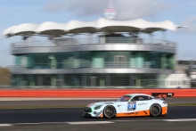 Stuart Hall (GBR) Dan Brown (GBR) Mercades AMG GT3