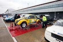 Retro Rallycross at Silverstone