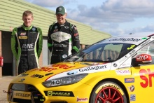 Dunlop Young Drivers Prize Test, Ant Whorton-Eales (GB) Motorbase Ford Focus, Nathan Harrison (GB) Motorbase Ford Focus