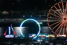 The fairground at the track