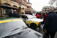 Banbury Passage Control on the Monte Carlo Historique Rally for the Glasgow competitors