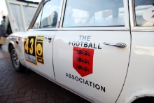FA Football Association sponsored car