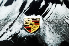 Porsche in the frost