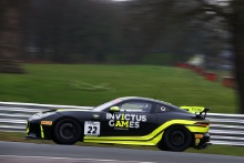 Steve McCulley / Paul Vice / Matthew George Invictus Games Racing Jaguar F-TYPE SVR GT4