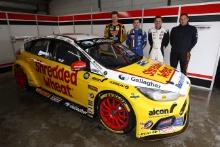 Ollie Jackson (GBR), Kyle Reid (GBR), James Gornall (GBR) and Andy Wilmot (GBR) Motorbase Ford Focus