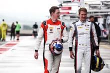 Dennis Olsen - Frikadelli Racing Team Porsche 911 GT3 R and Dirk Werner - KUS Team 75 Bernhard Porsche 911 GT3 R