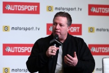 Zak Brown (USA) on the Autosport Stage