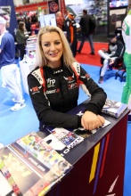 Michelle Westby on the HRX stand