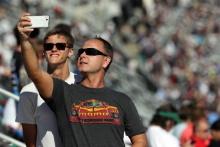 Fans at Daytona