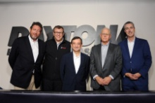 Gerard Nevau, John Doonan, Pierre Fillon ACO,  Jim France IMSA, Ed Bennett IMSA