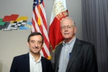 Jim France IMSA and Pierre Fillon ACO