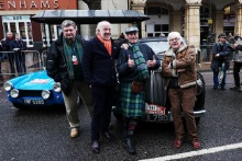 Peter Baker / Robert Grounds / Guy Loveridge Team Retrospeed Daimler Conquest with David Richards
