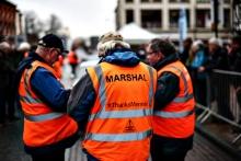 Marshals at the 23rd Rallye Monte-Carlo Historique Banbury Passage Control