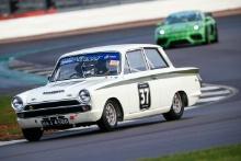 Mike Gardiner (GBR) - Lotus Cortina